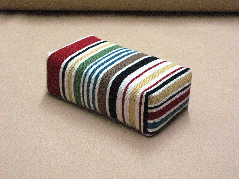 Brick Ascot Stripes
