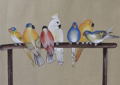 Honshu Parakeets
