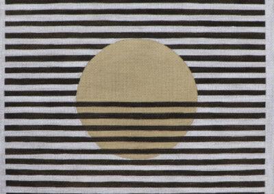 Moonface (Jaune) with Stripes