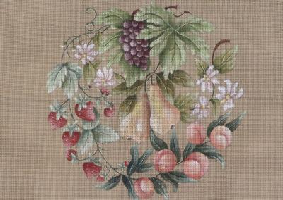 """Carre Fruits """"les Poires"""""""